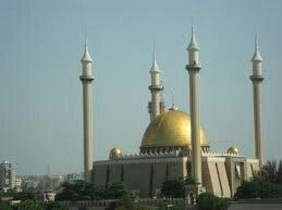 Usman Dam : National mosque abuja