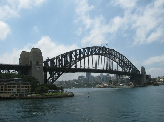 Sydney Harbour Bridge: View from the water