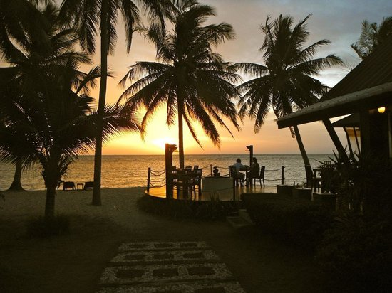 La Dolce Vita - Ristorante & Lounge Beach Bar: Sunset at La Dolce vita