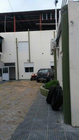 Hotel Calafquen: Patio