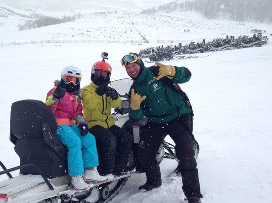 Summit Meadows Adventures: James rocks!