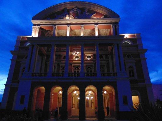 Théâtre Amazonas : Teatro Amazonas, fim de tarde