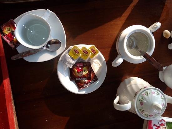 Hotel White Sand Beach: thé et café...