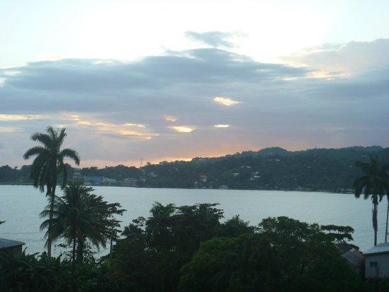 Ivanhoe's Guest House: sunrise @ Ivanhoe