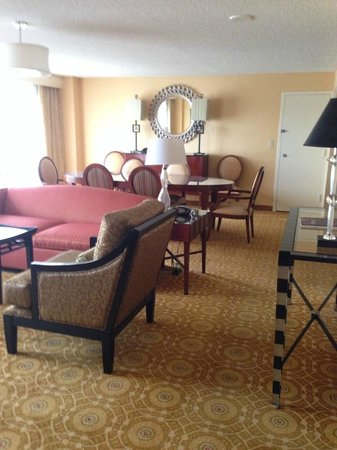 San Francisco Airport Marriott Waterfront : Suite