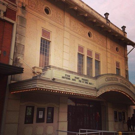 Crighton Theatre: The beautiful Crighton Theater.