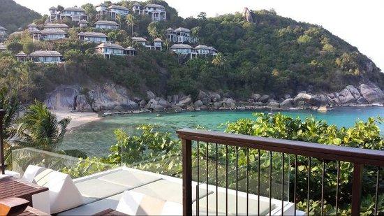Banyan Tree Samui: View outside Ocean View Villa B01