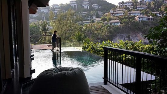 Banyan Tree Samui : View from Ocean View Villa B01