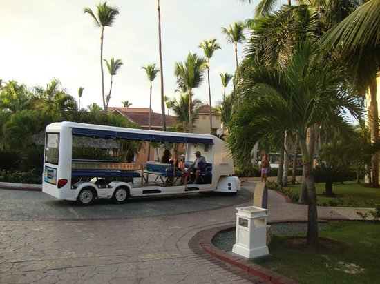 Grand Bahia Principe Bavaro : One of the shuttles
