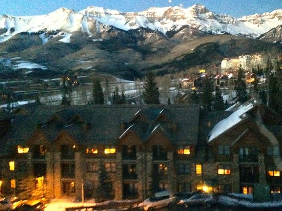 Mountain Lodge Telluride: perfect location and view