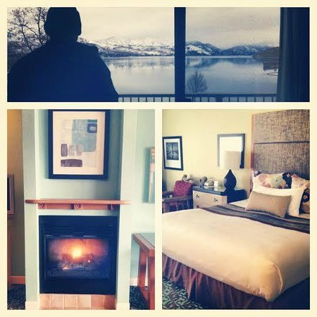 Campbell's Resort on Lake Chelan: The room and the view
