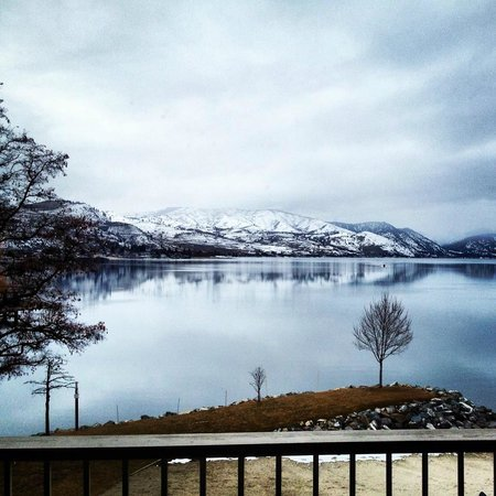 Campbell's Resort on Lake Chelan: The view from our balcony