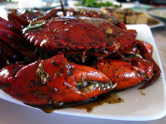 Kemayangan Bali: Black pepper crab