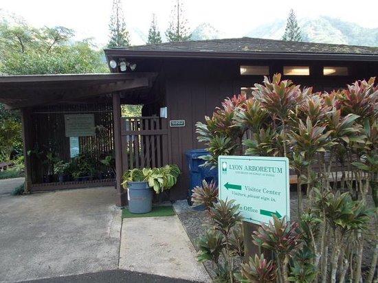 Lyon Arboretum : ビジターセンター
