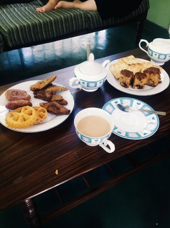 Kandy Guest House : Our welcome tea