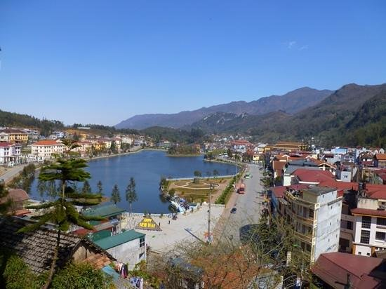 Victoria Sapa Resort and Spa: View from the suite