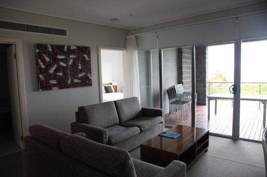 Silverwater Resort : Living Room Area