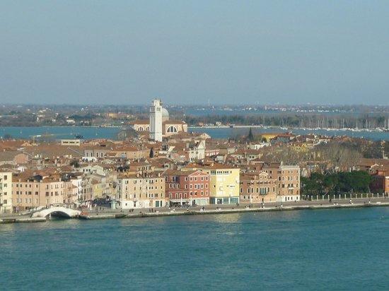 Vista desde el campanil de San Giorgio Maggiore.