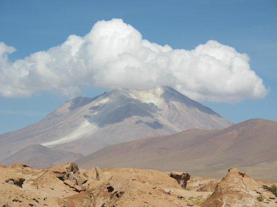 Salar de Uyuni: Volcán Ollague