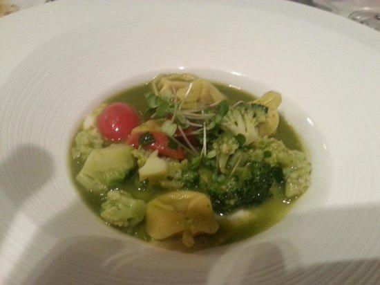 Aurora Restaurant: Tortellini with broccoli and cherry tomatoe