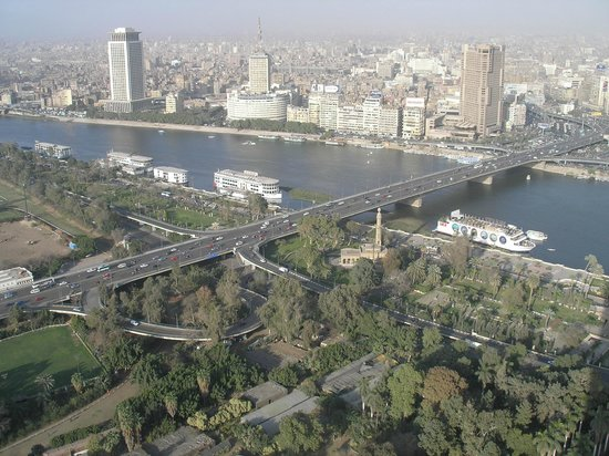 Torre del Cairo: View from Cairo Tower