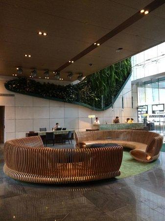 Hotel ICON: Check-in area