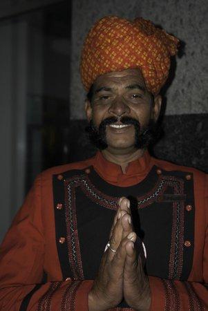 Ramada Jaipur: Gracious Doorman