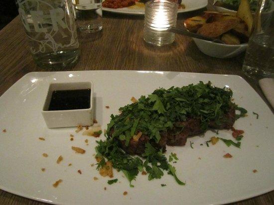 Restorant Uondas: Manzo con coriandolo