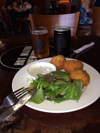 Hot Water Brewing Co: Risotto Balls