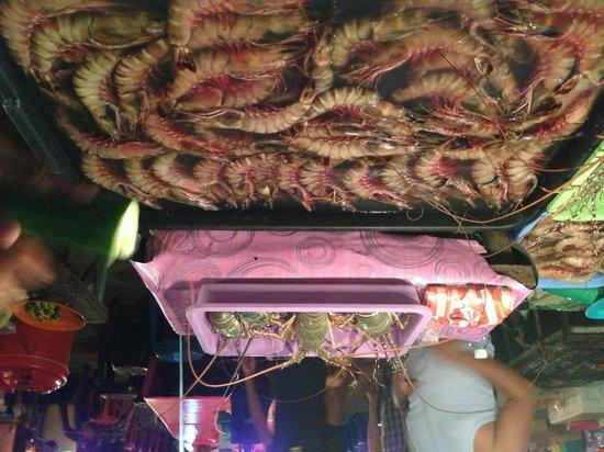 Gaya Centre Hotel: Ночной рынок