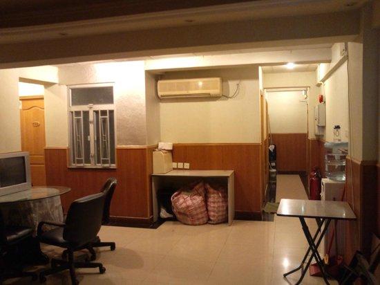 USA Hostel Hong Kong: 共用スペース