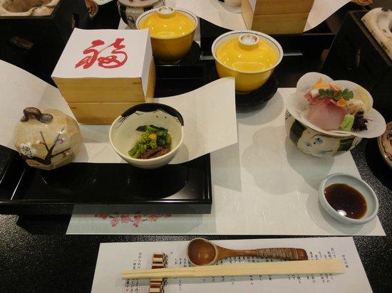 Gora Asahi Hotel: 前菜