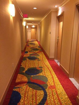 Vancouver Marriott Pinnacle Downtown Hotel: nice hallway