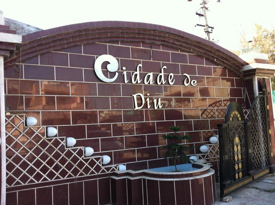 Hotel Cidade de Diu: Hotel Entrance