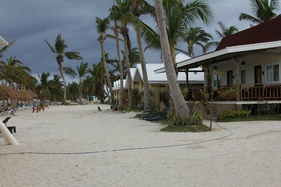 Anika Island Resort : Beach front