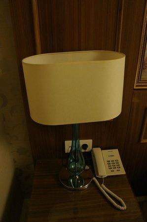 Neorion Hotel: Night lamp