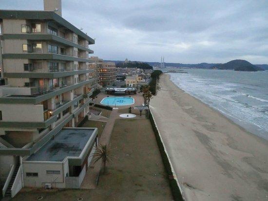 Karatsu Seaside Hotel: 眺望