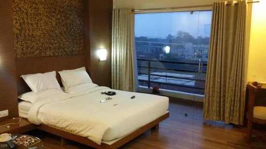 Rewa, India: bed room