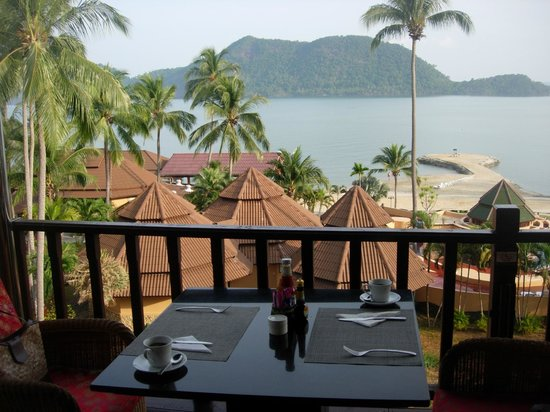 The Aiyapura Koh Chang: View from restaurant