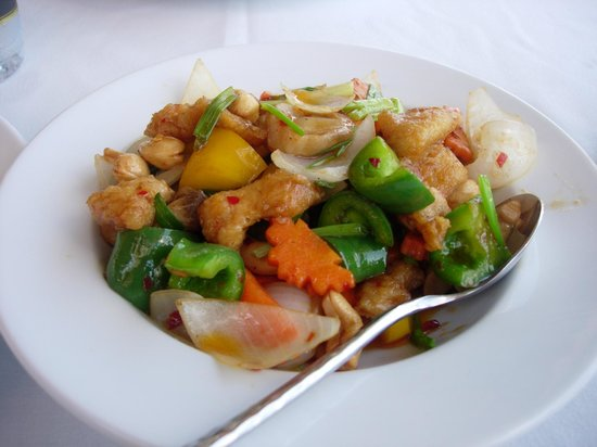 The Aiyapura Koh Chang: Chef's chicken with cashewnuts