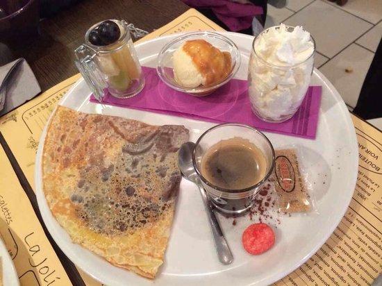 La Jolie Farandole : Le café gourmand: au top!