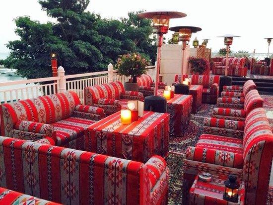 Four Seasons Hotel Doha: Shisha Terrace