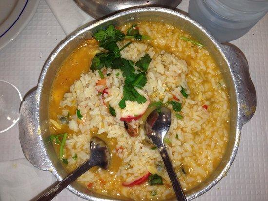 Restaurante Rio Coura: Risotto