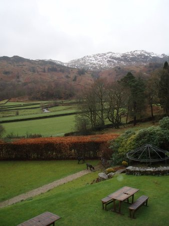 The Lancrigg Hotel: View from Silver Howe window