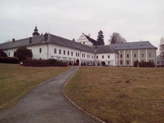 Wellness Hotel Diana: Velke Losiny chateau
