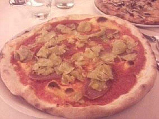 Pizza carciofini e salame senza mozzarella foto di ristorante giardino ancona tripadvisor - Ristorante il giardino ancona ...