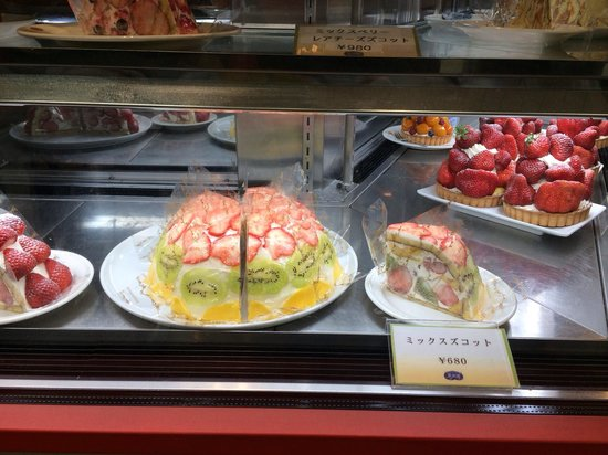 Fruit Parlor  Kajitsuen: Mixed fruit cake