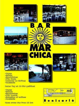 Bar Mar Chica: collage