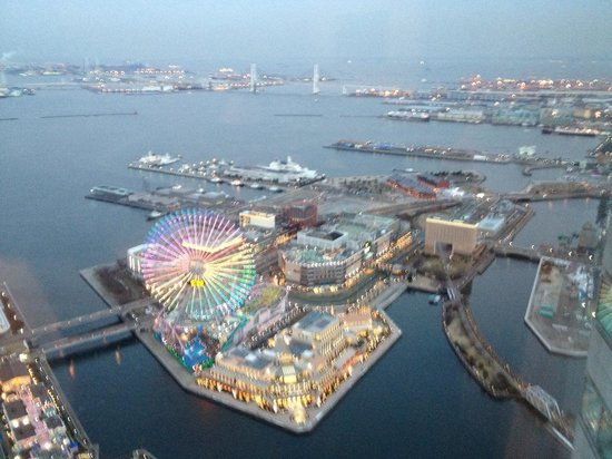 Yokohama Royal Park Hotel: View from my room
