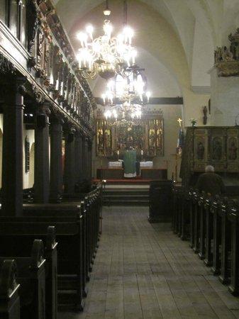 Church of the Holy Spirit Puhavaimu Kirik: Church service on Sunday afternoon